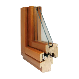 68 mm Profile with wooden frame drip cap | ADS Construction