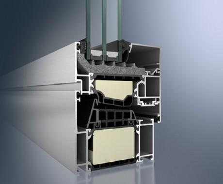 Aluminuim windows AWS Schüco