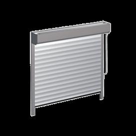 Brama wyposażona wosłonę wału nowojowego 2 skal