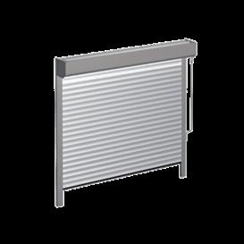 Brama wyposażona wosłonę wału nowojowego skal