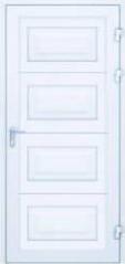 Drzwi zpaneli zprzetłoczeniami kasetonowymi skal
