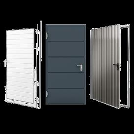 Drzwi boczne dobram garażowych